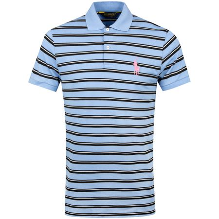 Golf undefined Double Stripe Pique Cabana Blue Multi - SS19 made by Polo Ralph Lauren