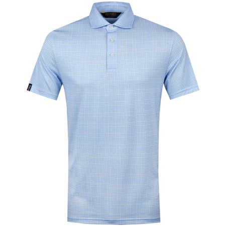 Golf undefined Printed Luxe Jersey Glenplaid Blue/White - SS19 made by Polo Ralph Lauren