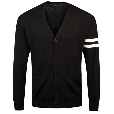 Golf undefined 12G Merino Cardigan Polo Black - SS19 made by Polo Ralph Lauren