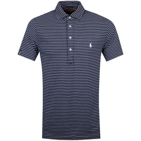 Golf undefined Simple Stripe Polo French Navy/White - SS19 made by Polo Ralph Lauren