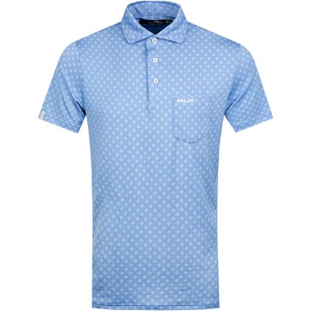 Golf undefined Diamond Dot Airflow Jersey Cabana Blue - SS19 made by Polo Ralph Lauren