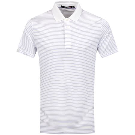 Golf undefined Lightweight Thin Stripe Airflow White/Hampton Purple - SS19 made by Polo Ralph Lauren
