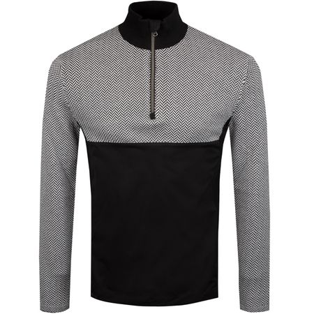 Golf undefined Hybrid Merino Windblock HZ Sweater Polo Black/White - SS19 made by Polo Ralph Lauren