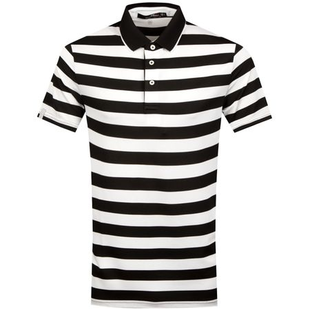 Golf undefined Lightweight Bold Stripe Tech Pique Polo Black/Pure White - SS19 made by Polo Ralph Lauren