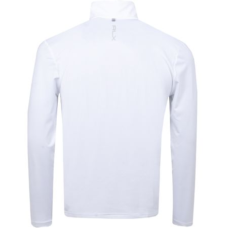 MidLayer Brushback Tech Jersey Pure White - SS19 Polo Ralph Lauren Picture
