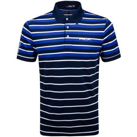 Polo Engineered Stripe Polo French Navy/Royal Blue - SS19 Polo Ralph Lauren Picture