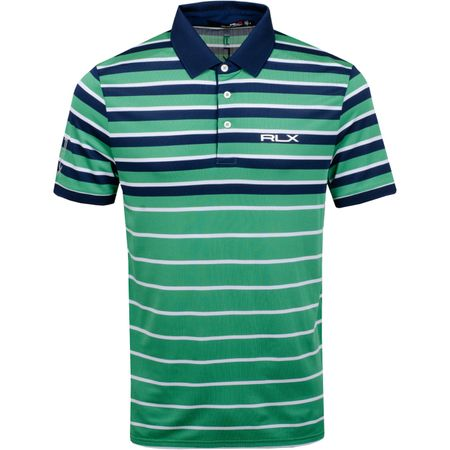 Golf undefined Engineered Stripe Polo Raft Green/French Navy - SS19 made by Polo Ralph Lauren
