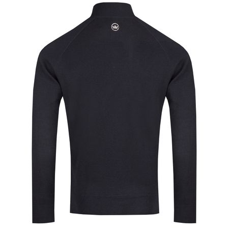 Golf undefined Crown Crafted Performance Cashmere Quarter Zip Navy - AW18 made by Peter Millar