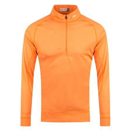MidLayer Keano Halfzip Kjus Orange Melange - 2019 Kjus Picture
