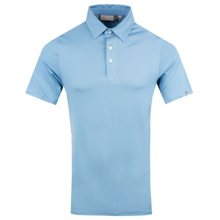 Polo Soren Polo Solid Silver Lake Blue - AW18 Kjus Picture