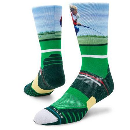 Socks Jack Nicklaus Crew Green - 2019 Stance Picture