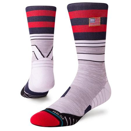 Socks Golf Steward Crew Grey Heather - 2019 Stance Picture