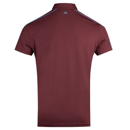 Golf undefined Club T Regular Fit Lux Pique Dark Mahogany - AW18 made by J.Lindeberg