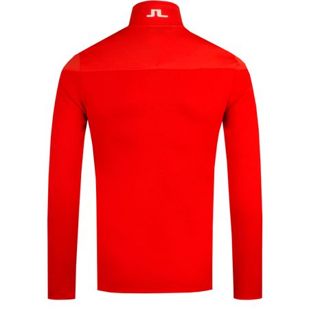 Golf undefined Hubbard Quarter Zip Mid Structured Jacket Racing Red - 2019 made by J.Lindeberg