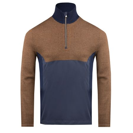 Golf undefined Half Zip Hybrid Sweater Squire Brown/Tan - AW18 made by Polo Ralph Lauren