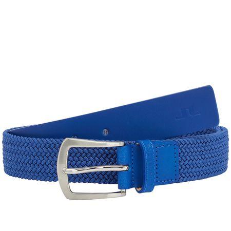 Golf undefined Caspian Elastic Braid Belt Daz Blue - AW18 made by J.Lindeberg