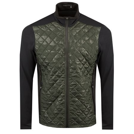 Golf undefined Tundra Full Zip Jacket Loden/Loden Camo - AW18 made by Greyson
