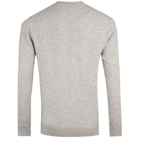 Hoodie Mohawk Crewneck Sweater Light Grey Heather - AW18 Greyson Picture