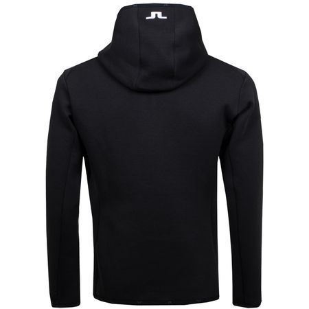Golf undefined Logo Hood Tech Sweat Black - 2019 made by J.Lindeberg