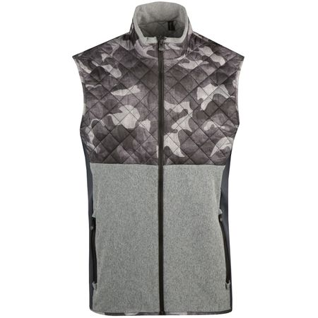 Golf undefined Huron Vest Grey Camo/Grey - AW18 made by Greyson