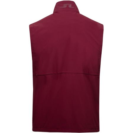 Golf undefined Adapt Performance Vest Lux Softshell Dark Mahogany - AW18 made by J.Lindeberg