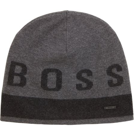 Cap Ebondi Beanie Medium Grey - AW18 BOSS Picture