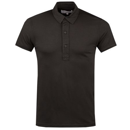 Polo Sebastian Merino Polo Black - AW18 Orlebar Brown Picture