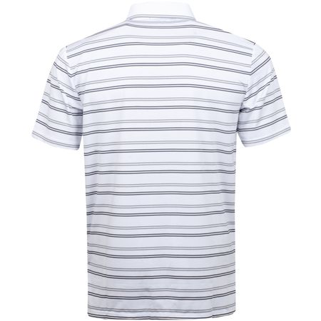 Golf undefined RLX Ralph Lareun Striped Airflow Jersey Pure White/Steel Heather/Avery Heather - AW18 made by Polo Ralph Lauren