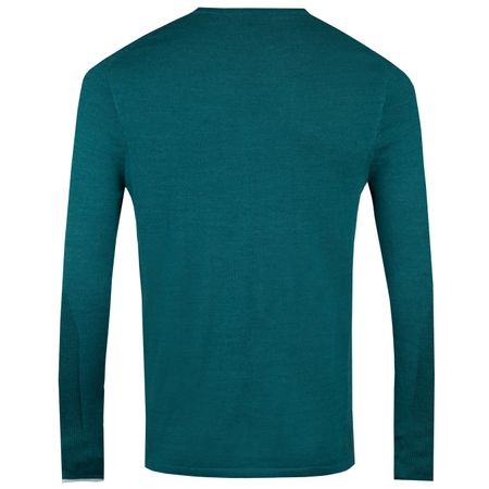 Hoodie Guide V-Neck Sweater Emerald - AW18 Greyson Picture