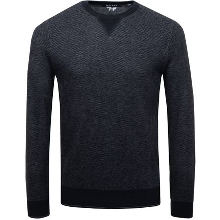 Golf undefined Heathered Twist Sweater Black - AW18 made by Wolsey