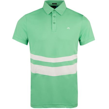 Golf undefined Double Stripe Regular TX Jersey Fresh Green - AW18 made by J.Lindeberg