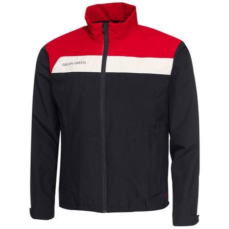 Golf undefined Austin GORE-TEX Jacket Black/Red/Snow - 2019 made by Galvin Green