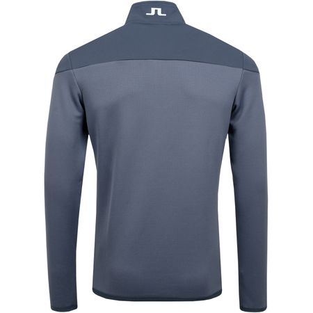 Golf undefined Hubbard Quarter Zip Mid Jacket Structured Dark Grey - 2019 made by J.Lindeberg