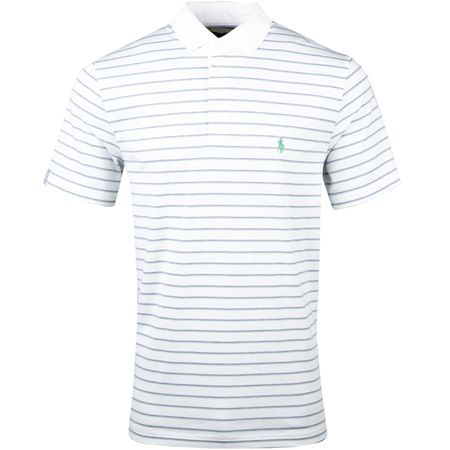 Golf undefined Stripe Performance Lisle White/English Purple Heather - AW18 made by Polo Ralph Lauren