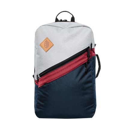 Golf undefined Daypack Gray/Navy/Maroon - 2018 made by Jones Golf Bags