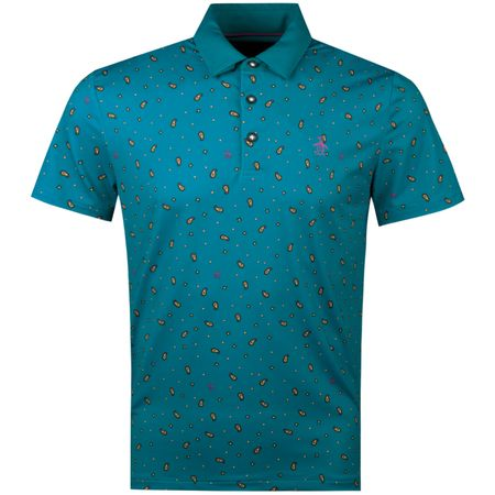 Golf undefined Paisley Pete Print Polo Crystal Teal made by Original Penguin