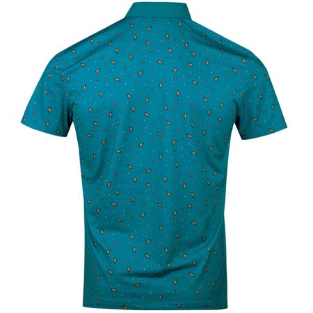 Polo Paisley Pete Print Polo Crystal Teal Original Penguin Picture