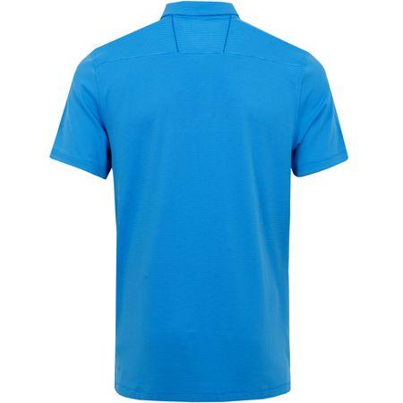 Polo AeroReact Victory Polo Blue Nebula/Silver Nike Golf Picture