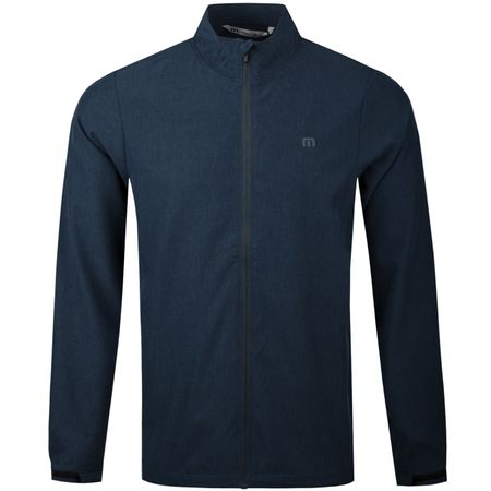 MidLayer Road Soda Full Zip Heather Blue Nights - SS18 TravisMathew Picture
