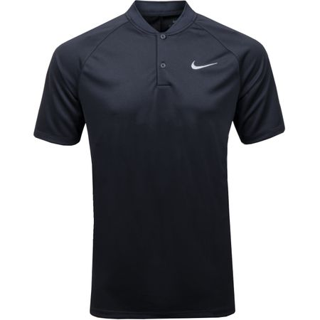 Golf undefined Dry Momentum Raglan Sleeve Polo Black/Black - 2019 made by Nike Golf