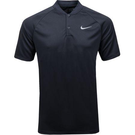 Polo Dry Momentum Raglan Sleeve Polo Black/Black - 2019 Nike Golf Picture