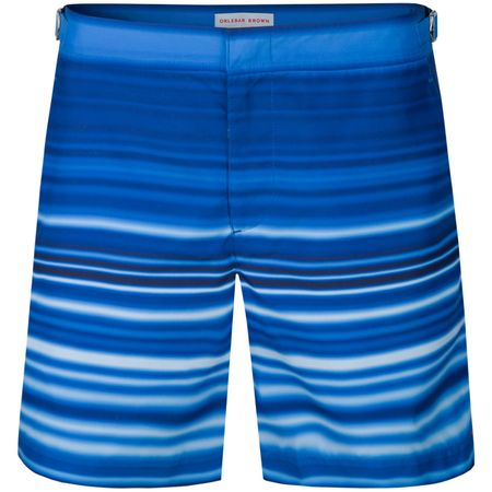 Shorts Bulldog Swimwear Planetary Stripe Blue Orlebar Brown Picture