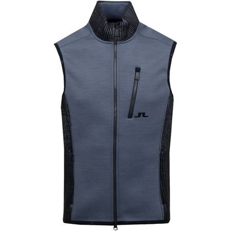 Golf undefined Regal Mid Vest Techno Jersey Dark Grey Melange made by J.Lindeberg