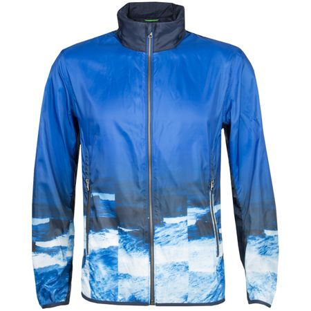 Golf undefined Jocean Bomber Jacket Ocean Print made by BOSS