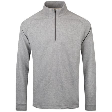 MidLayer Natural Hand Quarter Zip Mid Grey Heather - 2019 Dunning Picture