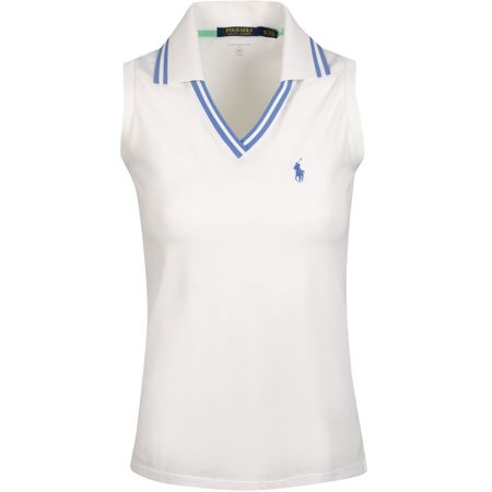 Golf undefined Womens SL Cricket Collar Polo Pure White - AW19 made by Polo Ralph Lauren