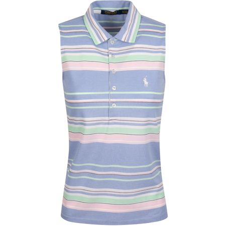 Golf undefined Womens SL Oxford Stripe Polo Blue Mist Multi - AW19 made by Polo Ralph Lauren
