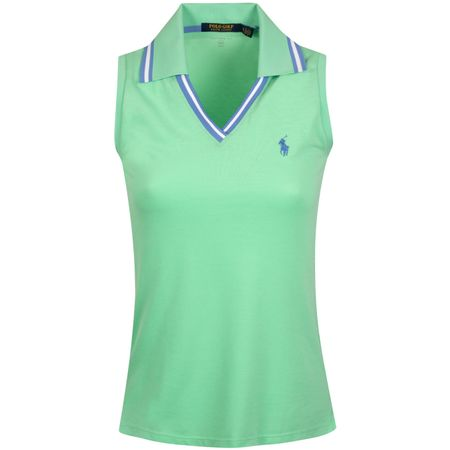 Polo Womens SL Cricket Collar Polo Spring Leaf - AW19 Polo Ralph Lauren Picture
