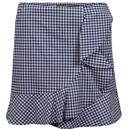 Golf undefined Womens Coolmax Skirt Navy Gingham - AW19 made by Polo Ralph Lauren