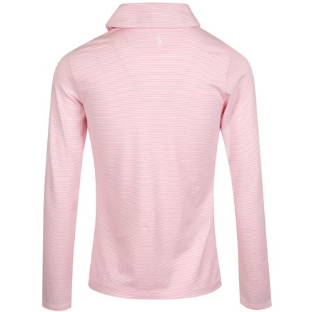 Golf undefined Womens Shawl Pullover Carmel Pink/Pure White - AW19 made by Polo Ralph Lauren